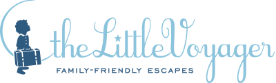 The Little Voyager logo, partner of Château de Serjac, spa hotel in the south of France.