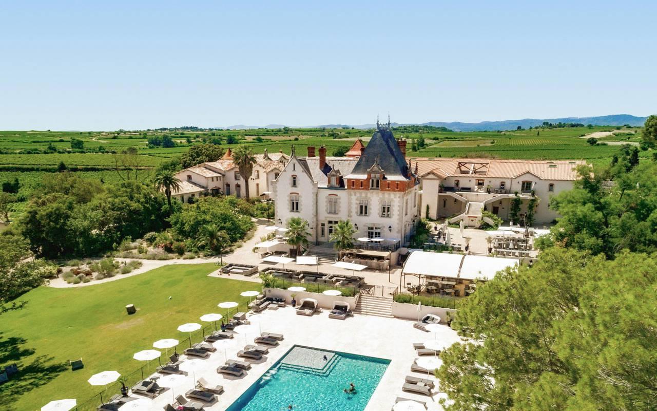 Château de Serjac, hotel spa Hérault, Domaine & Demeure