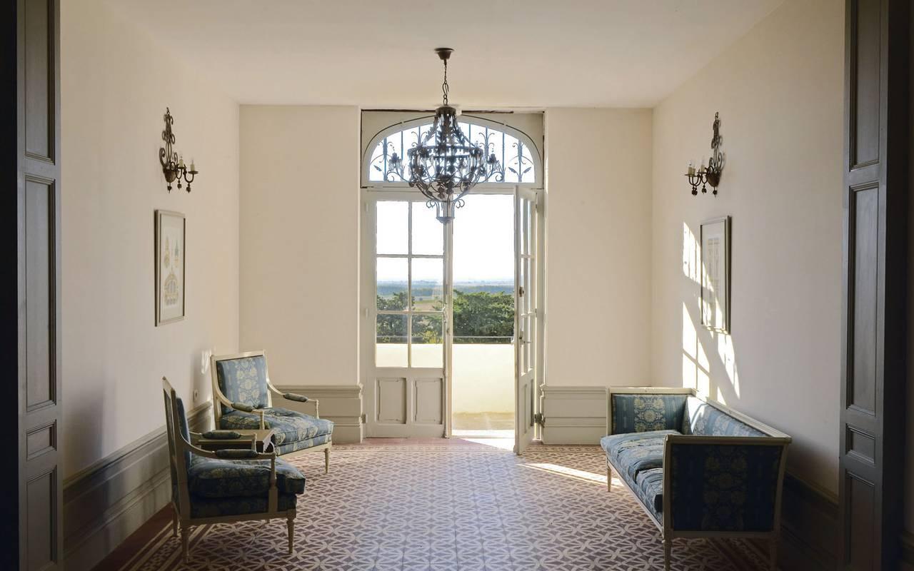 bright room rental villa languedoc roussillon
