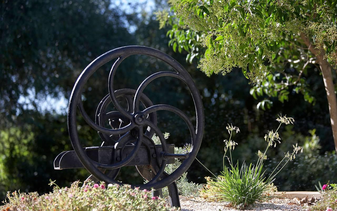 garden decoration rental villa languedoc roussillon