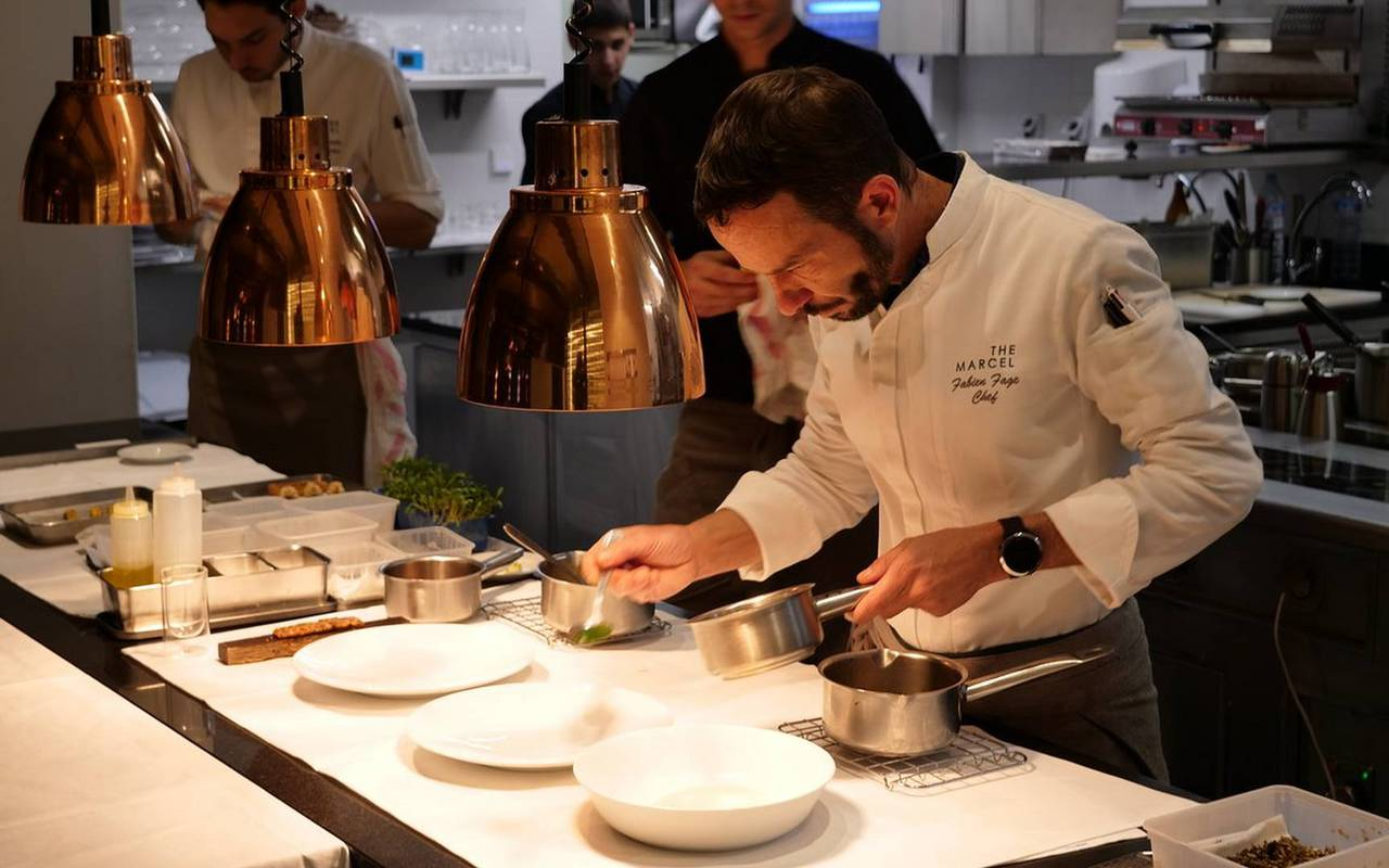 chef who cooks carrasses unusual night in Languedoc