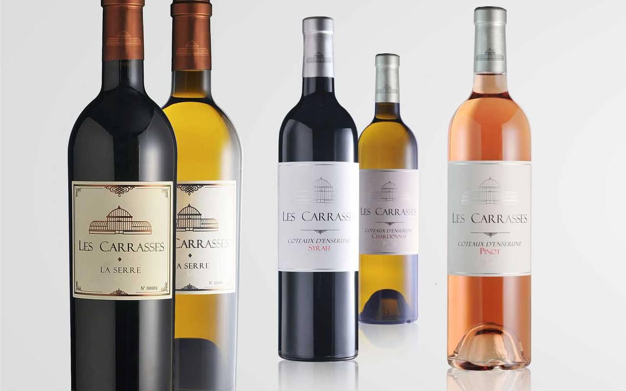 wines, Hérault wine estate, carrasses