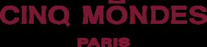 Logo Cinq Mondes, partenaire du Château de Serjac, château hôtel à Puissalicon.