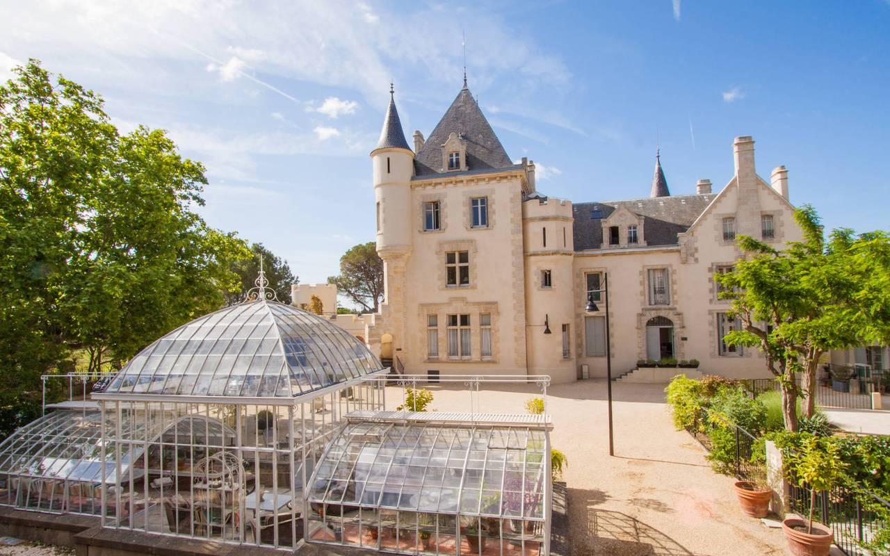 La verriére du château les carrasses, hôtel et location de villa près de Béziers