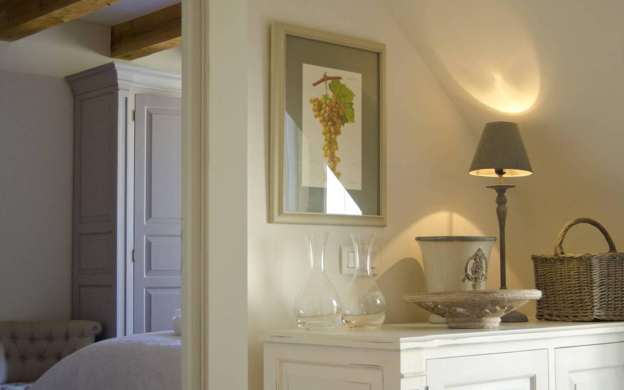 décoration, location vacances occitanie, château les carrasses