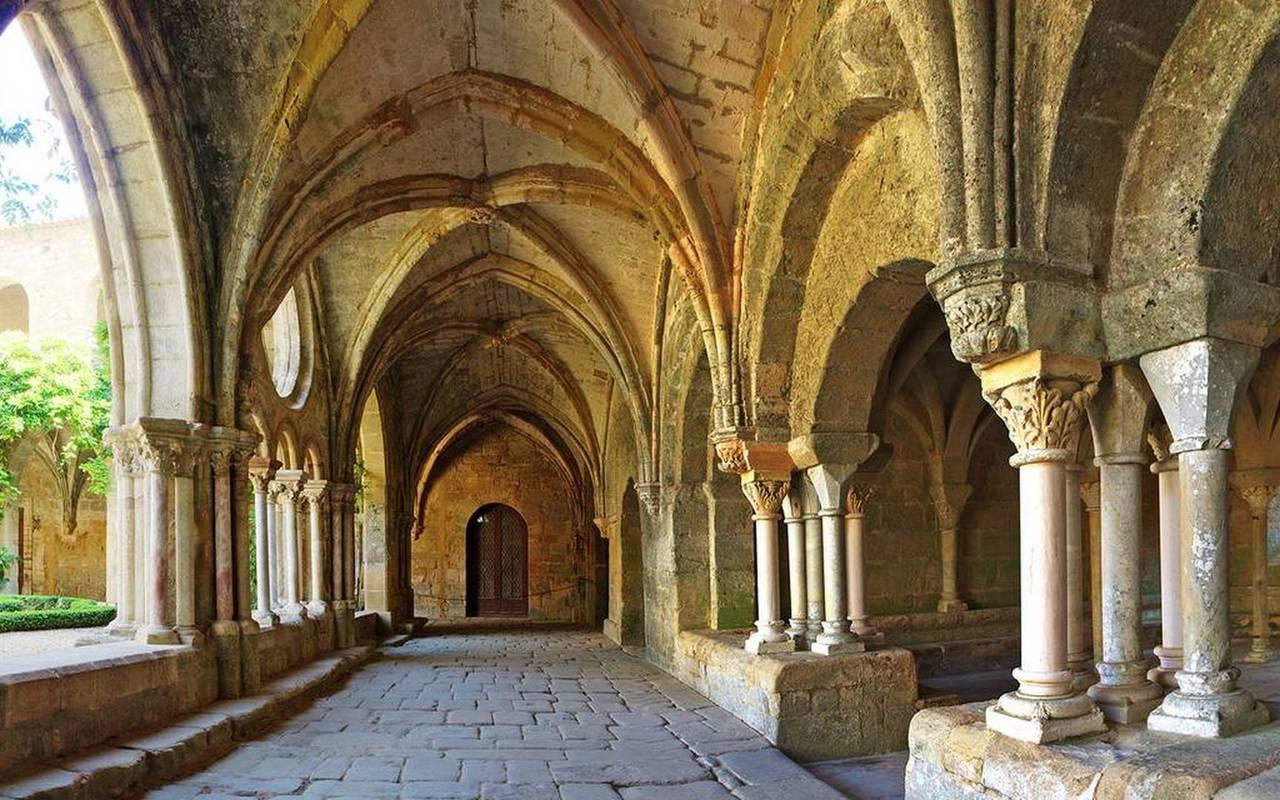 Activité au Château les Carrasses : visite de l'abbaye de fontfroide