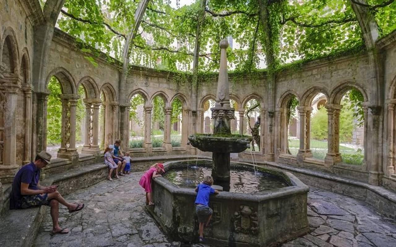 Activité au Château les Carrasses : visite de l'abbaye de valmagne