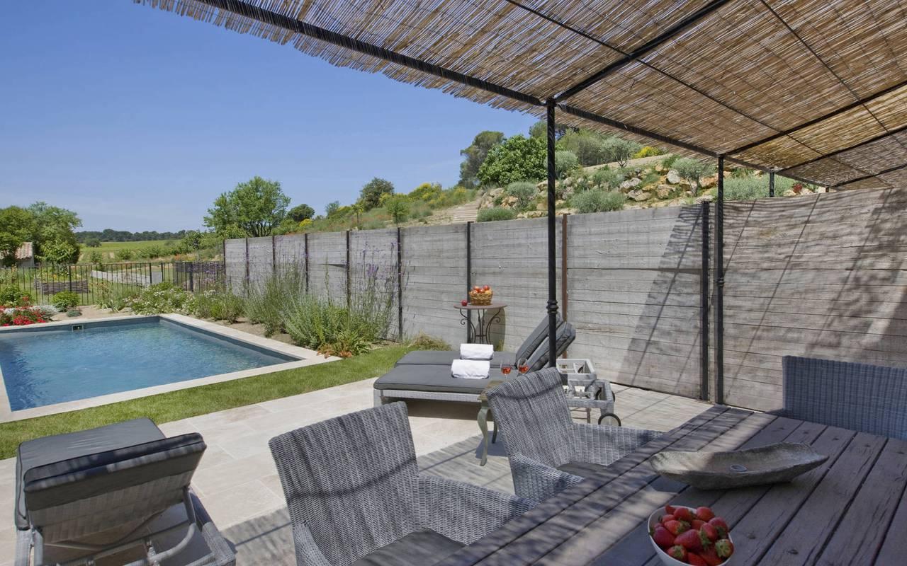 piscine privée, location maison avec piscine sud de la france